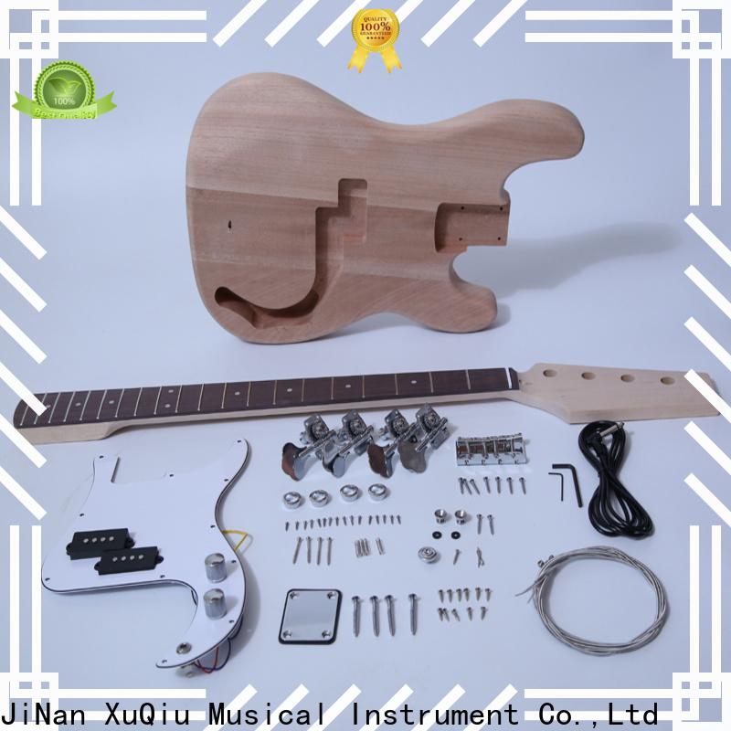 XuQiu hollow bass guitar starter kit factory for beginner
