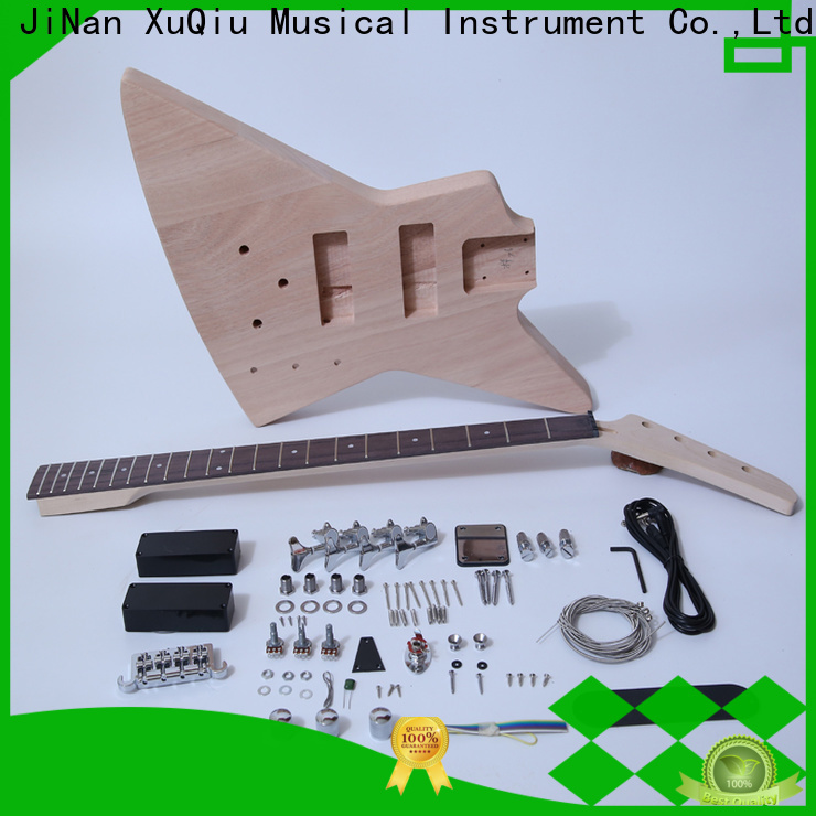 XuQiu wholesale diy electric bass kit for business for beginner