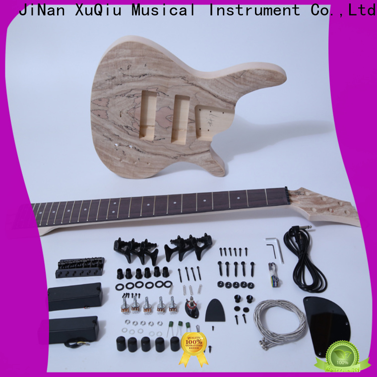 XuQiu kits 6 string bass diy kit manufacturers for competition