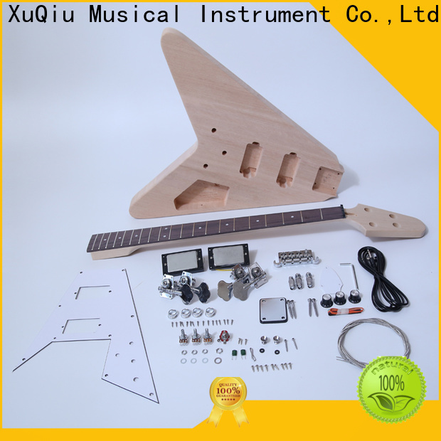 XuQiu unfinished fretless bass kit supply for student