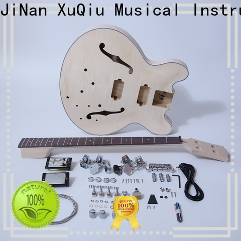 XuQiu wholesale diy fretless bass kit woodwind instruments for competition