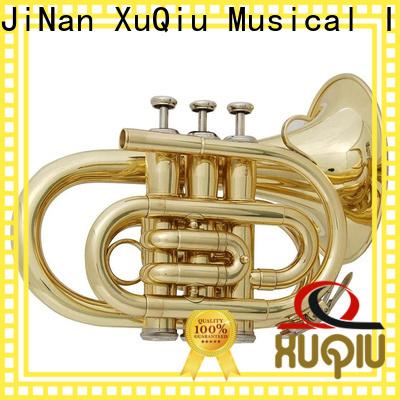 XuQiu latest pocket trumpet design for kids