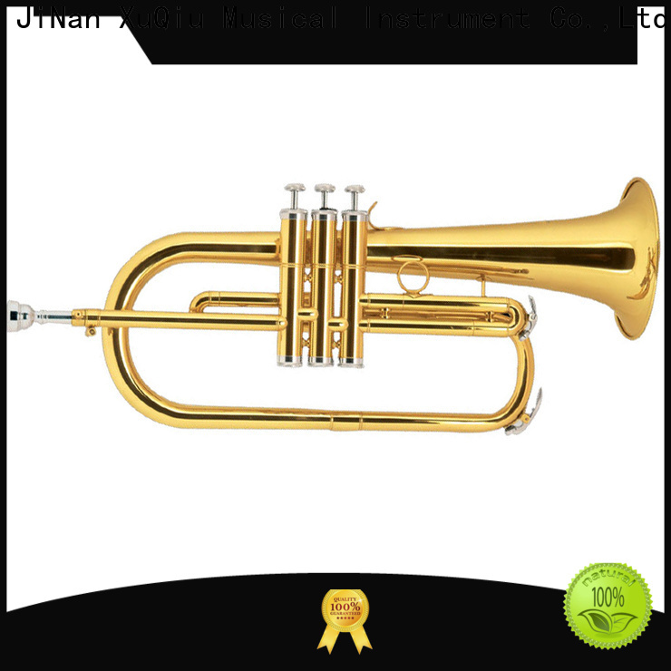 XuQiu professional rotary trumpet factory for student