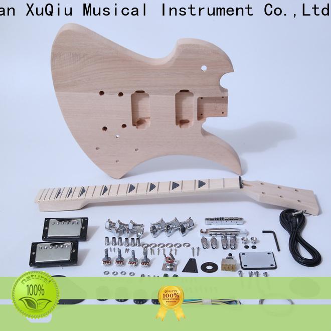 XuQiu rockabilly custom hollowbody guitar for business for performance