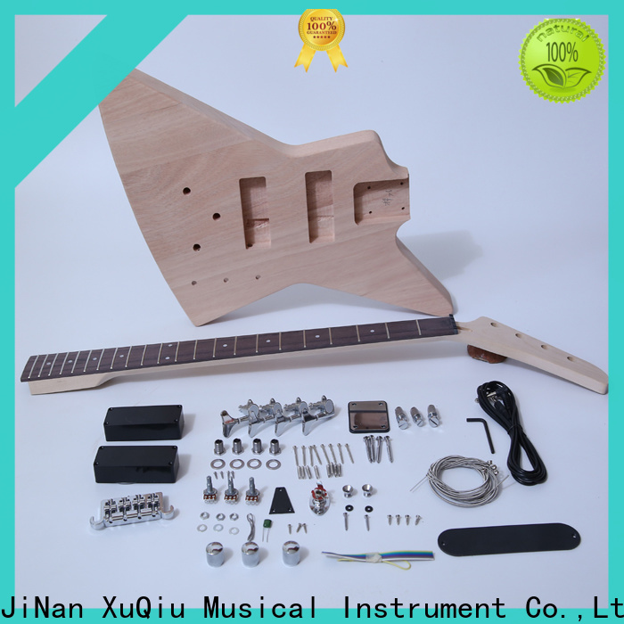 XuQiu telecaster bass guitar build kits suppliers for beginner