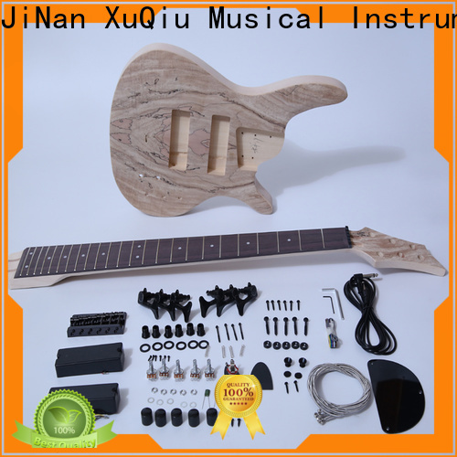 XuQiu unfinished bass guitar repair kit suppliers for student