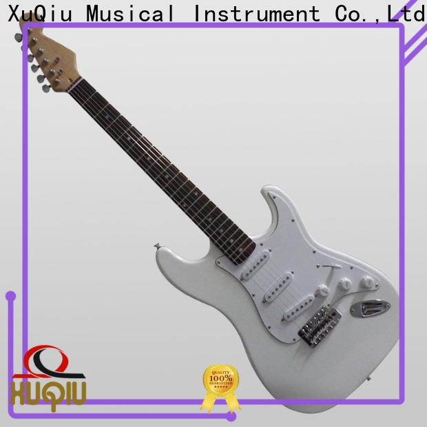 XuQiu cheap custom left handed guitar for business for beginner