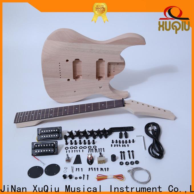 XuQiu top hollow body bass guitar suppliers for beginner