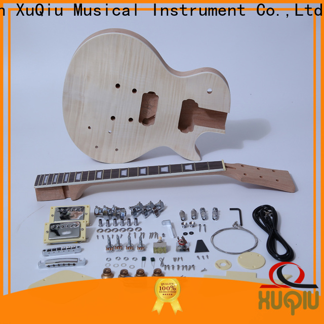 XuQiu sngk013 archtop acoustic guitar kit factory for performance