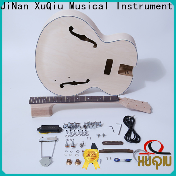 XuQiu high end bass and guitar double neck company for kids